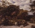My Garden at Redhill 1859 - John Linnell