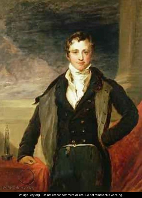 Portrait of Sir Humphry Davy 1778-1829 - John Linnell