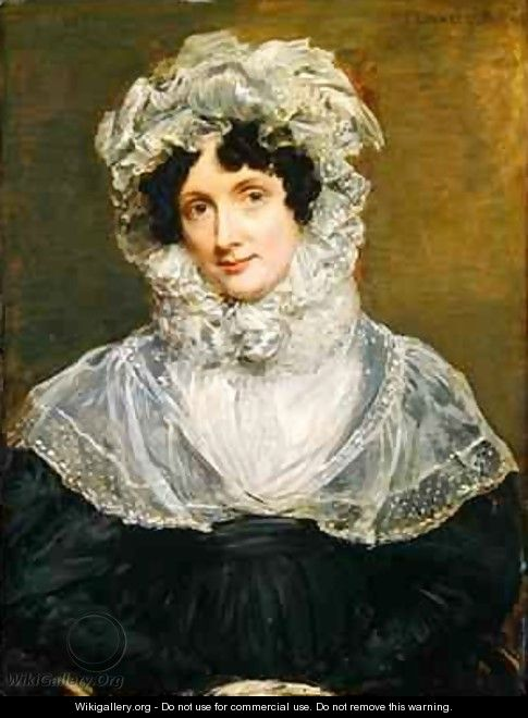 Portrait of Mrs Bolding 1832 - John Linnell