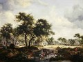 Wooded Landscape 1667 - Johannes Lingelbach