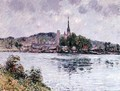 The River Seine at Rouen 1909 - Gustave Loiseau
