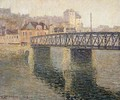 The Iron Bridge at St Ouen 1908 - Gustave Loiseau