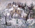 Houses at Pontoise 1930 - Gustave Loiseau
