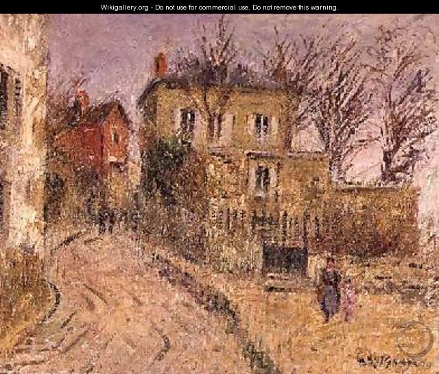 The Village Road - Gustave Loiseau