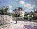 The Small Bourgeois House 1905 - Gustave Loiseau
