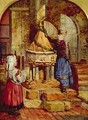Decorating the Old Font 1871 - James Lobley