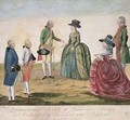 Meeting between Joseph II of Germany 1741-90 and Empress Catherine the Great 1729-96 at Koidak 18th May 1787 - Johann Hieronymus Loeschenkohl