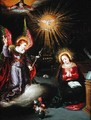 The Annunciation - Pieter Lisaert IV