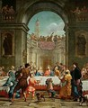 The Marriage at Cana 1723 - Bartolomeo Litterini
