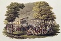 Camp Meeting of the Methodists in North America 2 - (after) Milbert, Jacques