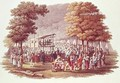 Camp Meeting of the Methodists in North America - (after) Milbert, Jacques