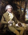 Portrait of Squire Morland with his gun and dog - James Miller