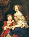 A Woman and her Son - Pierre Mignard