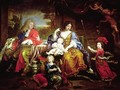 The Grand Dauphin with his Wife and Children 1687 - Pierre Mignard