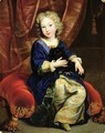 Portrait of Philippe de France 1683-1746 future King Philip V of Spain 1686 - Pierre Mignard