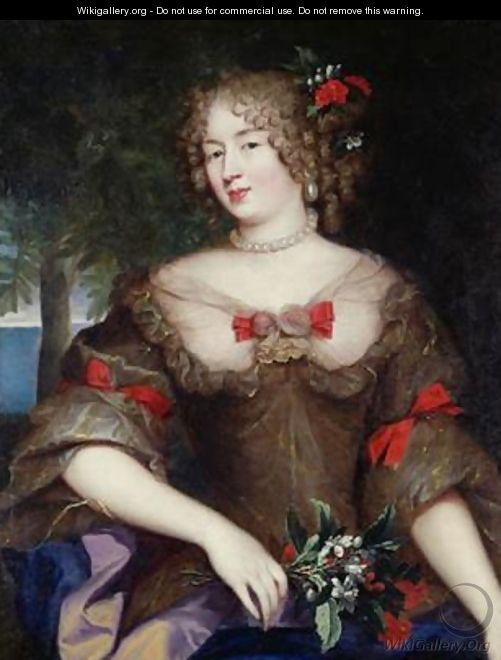 Francoise de Sevigne 1646-1705 Countess of Grignan - Pierre Mignard