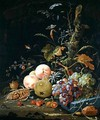 Still life of a forest floor - Abraham Mignon