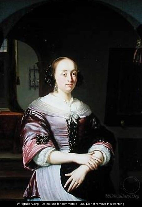 Portrait of a Lady 1673 - Frans van Mieris