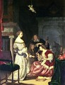 The Painter with his Family 1675 - Frans van Mieris