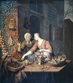 The Market Stall 1730 - Willem van Mieris