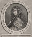 Jean-Henri DAnglebert 1635-91 engraved by Cornelius Vermeulen 1642-92 - (after) Mignard, Paul