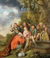 Joseph Being Cast into the Well by his Brothers - Jan Miense Molenaer