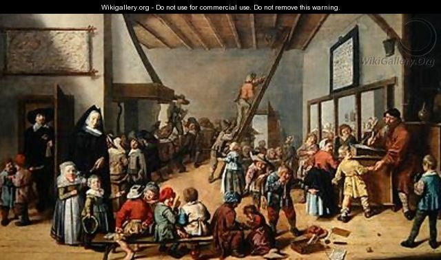 The School Room 1634 - Jan Miense Molenaer