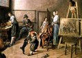 An Artists Studio 1631 - Jan Miense Molenaer