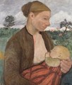 Mother and Child 1903 - Paula Modersohn-Becker