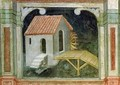 Watermill from The Working World cycle after Giotto 1450 - Nicolo & Stefano da Ferrara Miretto