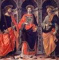 St James St Stephen and St Peter - Sebastiano Minardi