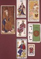 IIII The Emperor seven tarot cards from different packs - (attr.to) Minchin, William