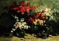 Still Life of Spring Flowers - Louis Emile Minet