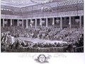 The National Assembly Abandoning all Privileges at Versailles - (after) Monnet, Charles