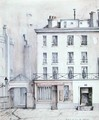 View of the House of Jacques Rene Hebert 1757-94 1910 - Paul Monnin