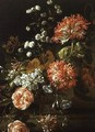 Still Life of Assorted Flowers - Jean-Baptiste Monnoyer