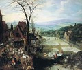 Market and Bleaching Ground 1620-22 - Joos or Josse de, The Younger Momper