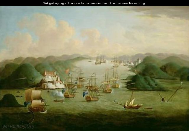 Capture of Porto Bello in 1739 - Peter Monamy