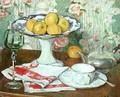Still Life with a Fruit Dish 1905 - Georges-Daniel de Monfreid