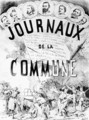 Newspapers of the Commune in Paris 1870-71 - Colomb B. Moloch