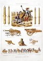 French artillery between 1500-50 from LArtillerie Francaise - Johannes Moltzheim