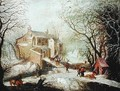 Winter Landscape 4 - Joos or Josse de, The Younger Momper