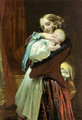 Maternal affection - Charles West Cope
