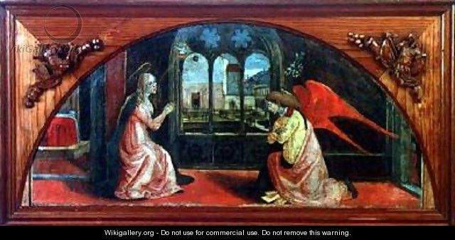 Annunciation - or di Giovanni Monte del Fora
