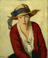 The Beach Hat - Robert Henri