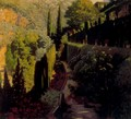 The Green Wall - Santiago Rusinol i Prats