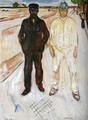 Mason and Mechanic - Edvard Munch