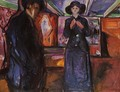 Man and Woman II - Edvard Munch