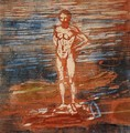 Man Bathing - Edvard Munch