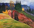 From Thuringewald - Edvard Munch